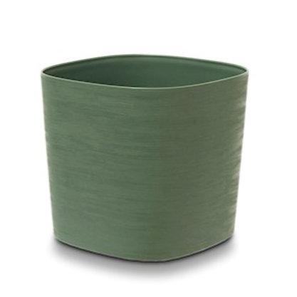 Topf Re Lite Pot Capri grün L24cm B24cm H21cm