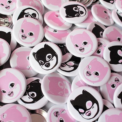 Baby Batman Button Badges