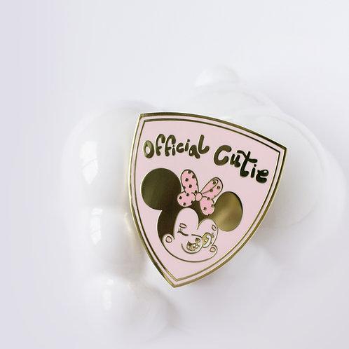 Minnie Official Cutie Pin