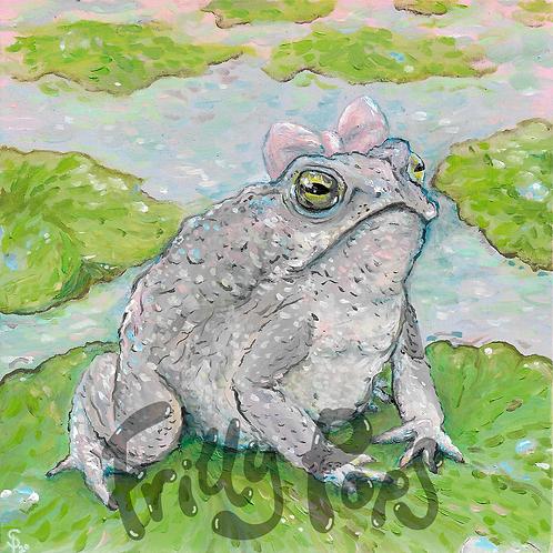 Princess Uggers Toad Fine Giclée Print