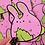 Thumbnail: Sakura Mochi Bunny Large Vinyl Sticker