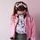 Thumbnail: Custom Frilly Pops Patch Jacket! UK SIZE 12