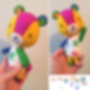#acnlstitches is finally done! Phew, he'
