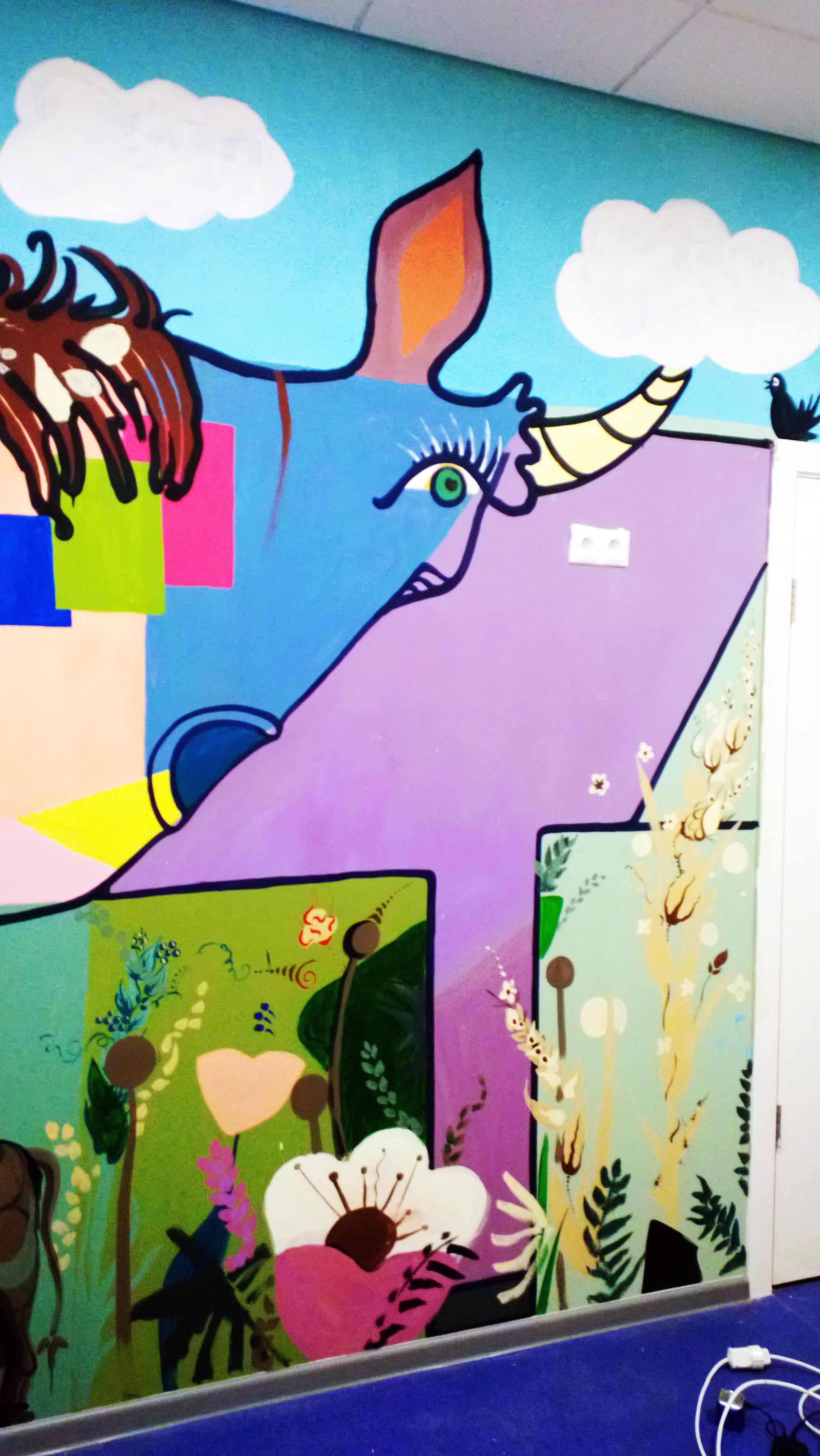 Роспись Детского сада 2013,фрагмент