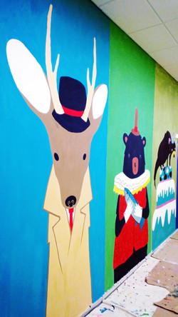 Роспись Детского сада 2013 фрагмент 3