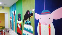 Роспись Детского сада 2013 фрагмент 2