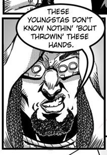 """JUDA FIST PAGE 23 """"IT's LIKE THAT!"""""""