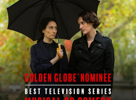 FLEABAG nominated for three Golden Globe Awards!