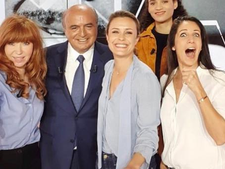 """Invitée sur Canal + pour mes 2 livres dans """"l'Info du vrai, le mag"""""""