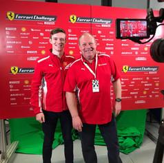 Ferrari F1 test driver and all round great guy - Callum Ilott