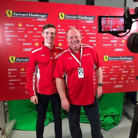 Ferrari F1 test driver and all round great guy - Callum Ilott