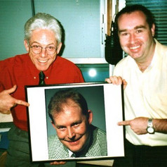 Back in the halcyon days of radio - when the hair was a little thicker.