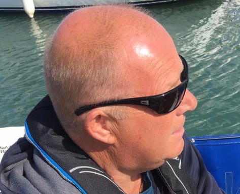 Captain Pugwash - leisure time on water.