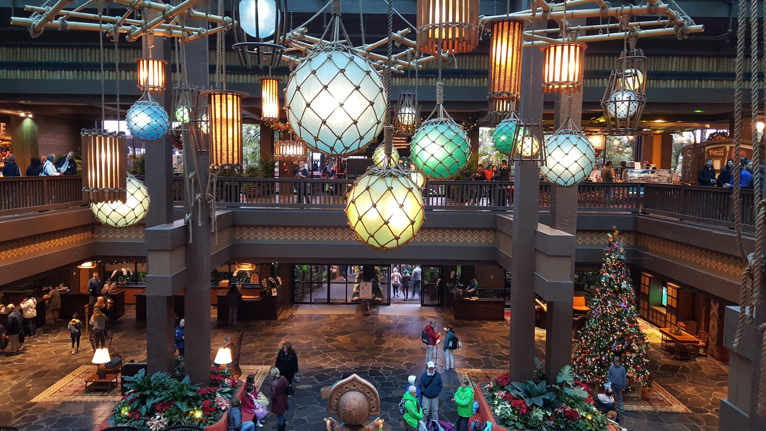 Inside the Polynesian Hotel