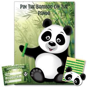 Pin The Bamboo On The Panda