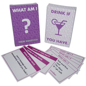 What Am I / Drink If You Have