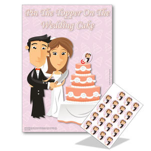Pin The Topper On The Cake