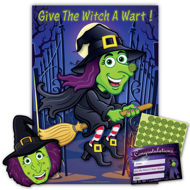Give The Witch A Wart