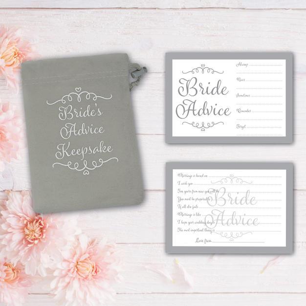 Bride Advice Grey