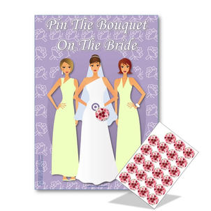Pin The Bouquet On The Bride