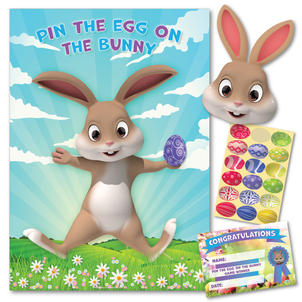 Pin The Egg On The Bunny