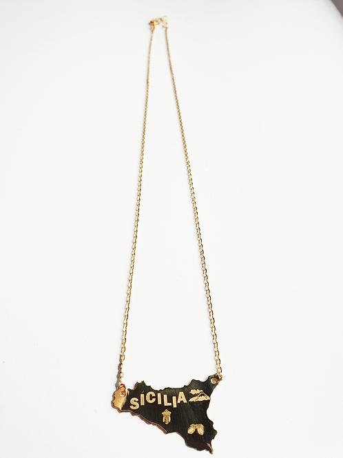 Collana Sicilia Oro Giallo