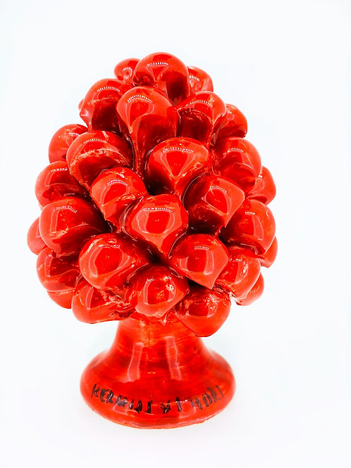 Pigna in Ceramica / Rosso