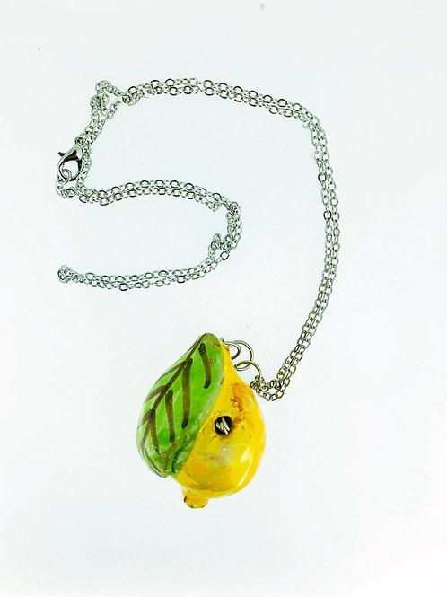 """Collana con pendente in ceramica """"limoncino"""" 2"""