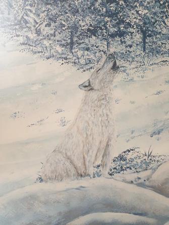 Wolf detail