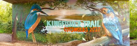 Kingfisher Trail 2021 promotional painti