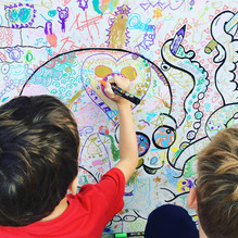 Childrens drawing board
