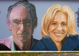 Ian McEwan by Curtis Hylton and Emily Matlis by Andy Dice Davies
