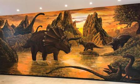 Dinosaur playroom