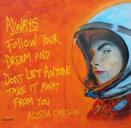 Always follow your dreams and don't let anyone take it away from you. Upfest 2018