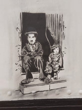 Chaplin and The Kid
