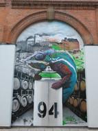 Gnasher Graffiti Murals