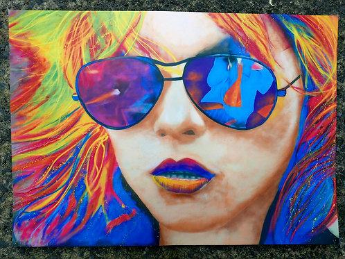 Debbie Harry wall print