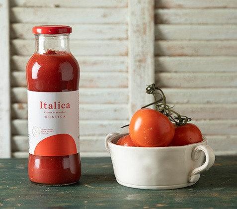 מחית עגבניות חתוכותת דק