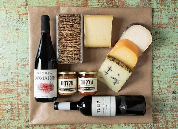 ערב גבינות ויין