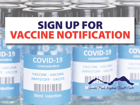 Sign up for Vaccine Notification