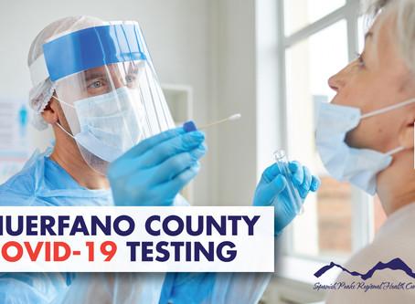 FREE COVID-19 Testing In Huerfano County