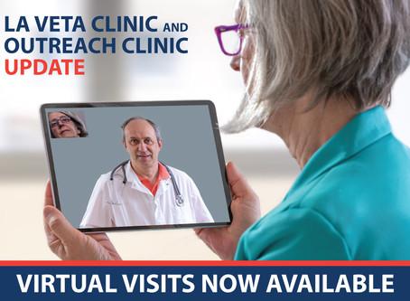 La Veta & Outreach Clinic Update