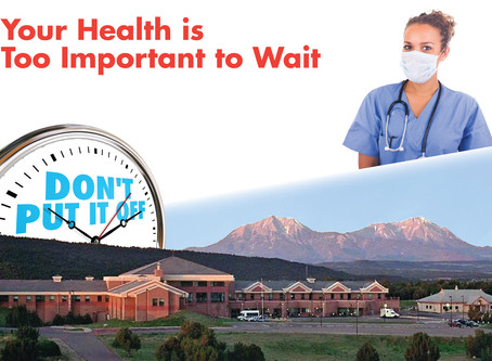 Your Health is Too Important to Wait