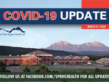 3/31/20 COVID-19 UPDATE