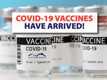 COVID-19 Vaccines Have Arrived in Walsenburg!