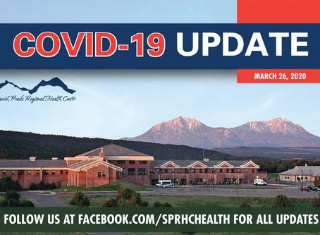Important COVID-19 (Coronavirus) Testing Update