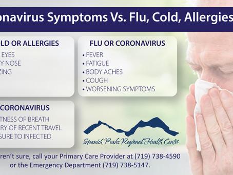 COVID-19 Symptoms Vs. Flu, Cold, Allergies