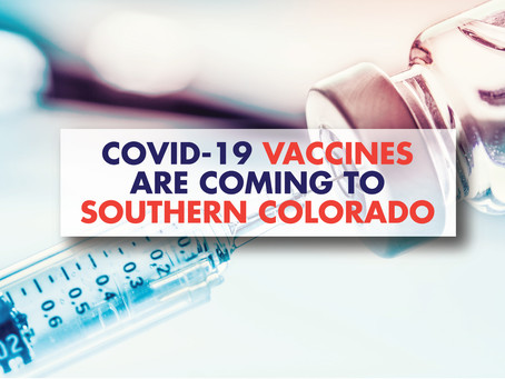 COVID-19 Vaccines are Coming to Southern Colorado