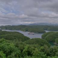 長崎県 対馬リアス式海岸