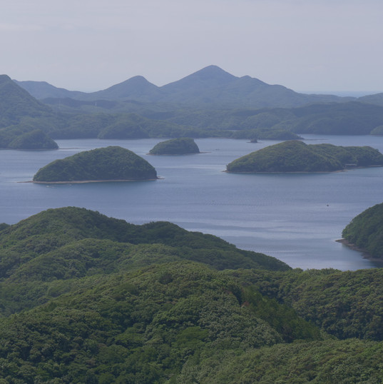 長崎県対馬 リアス式海岸